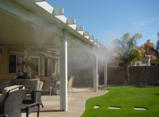 Mist Sytstems : Do It Yourself Misting Kits - Mist Cooling Systems