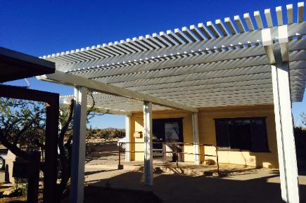 Alumawood do it yourself patio cover kits awnings pergolas simi valley ca solutioingenieria Image collections